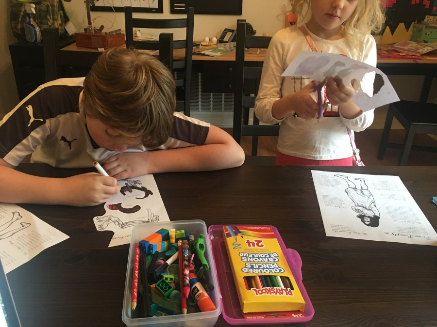 Home School in the Woods: Pirates