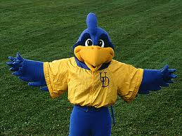University of Delaware Mascot YoUDee