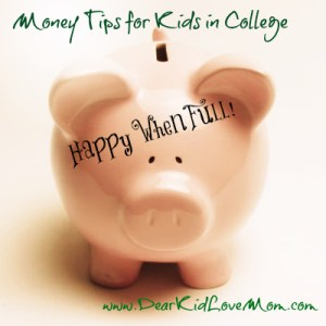 Money Tips for Kids in College