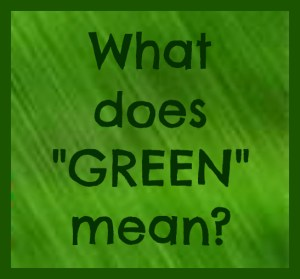 what does green mean