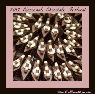 Chocolate and brownies Cincinnati Chocolate Festival dearKidLoveMom.com