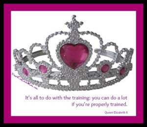 It's all to do with the training Queen Elizabeth II DearKidLoveMom.com