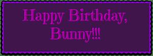 Happy Birthday Bunny DearKidLoveMom.com
