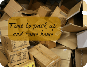 Time to pack up and come home from college DearKidLoveMom.com