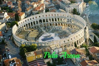 Pula Arena, the history, the present. DearKidLoveMom.com