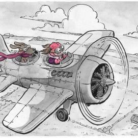 Mike_Deas_Illustration_KidsPlane