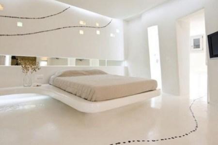 schlafzimmer komplett wei%c3%9f modern einbauleuchten effekte