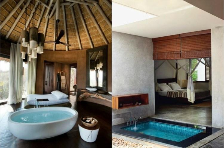 Badewanne Im Schlafzimmer   Home Design, Schlafzimmer Entwurf