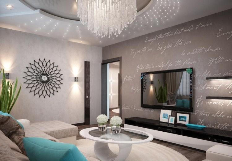 ... Wohnzimmer Modern Einrichten Kalte Oder Warme Töne? ...