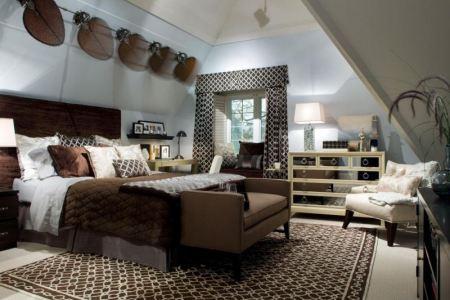 schlafzimmer mit dachschräge gestalten 25 wohnideen
