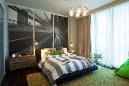 bilder schlafzimmer fotowand gestalten ideen