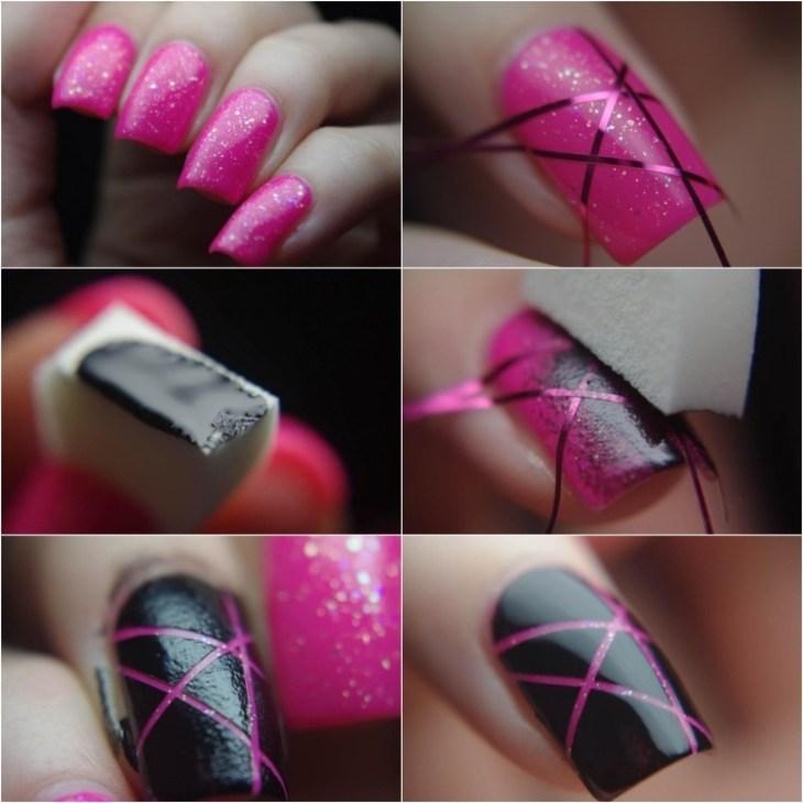 deco-ongles-bande-de-striping-tape-vernis-paillettes-etape-par-etape