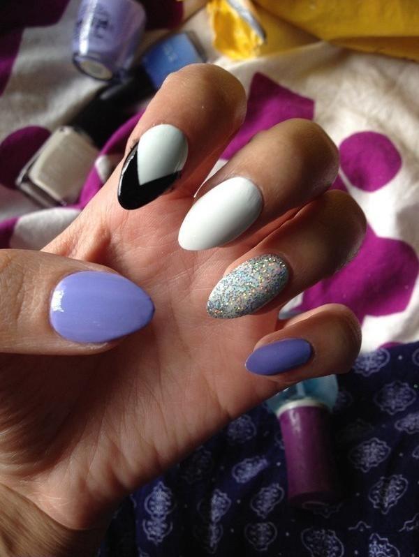 vernis-shellac-idee-deco-ongles-couleur-lavande-blanche-noire