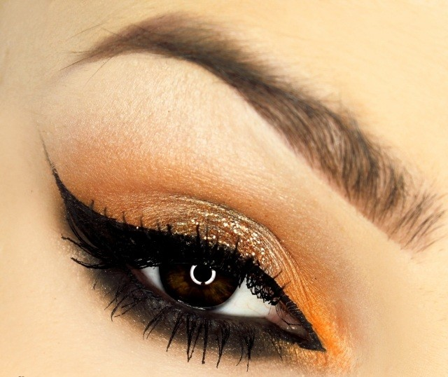 maquillage-yeux-idee-ete-eye-liner-marron-smokey-eye
