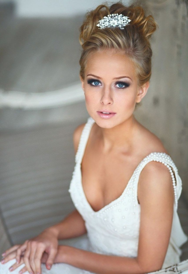 smokey-eye-brillant-lèvres-rose-maquillage-mariée-2015