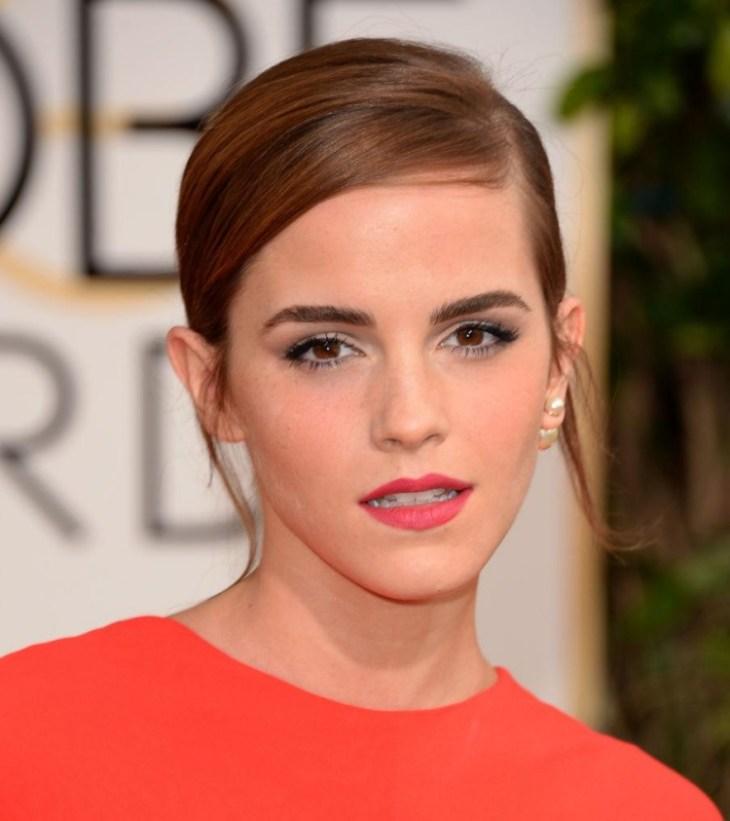 comment-bien-maquiller automne yeux dicrets lèvres corail Emma Watson