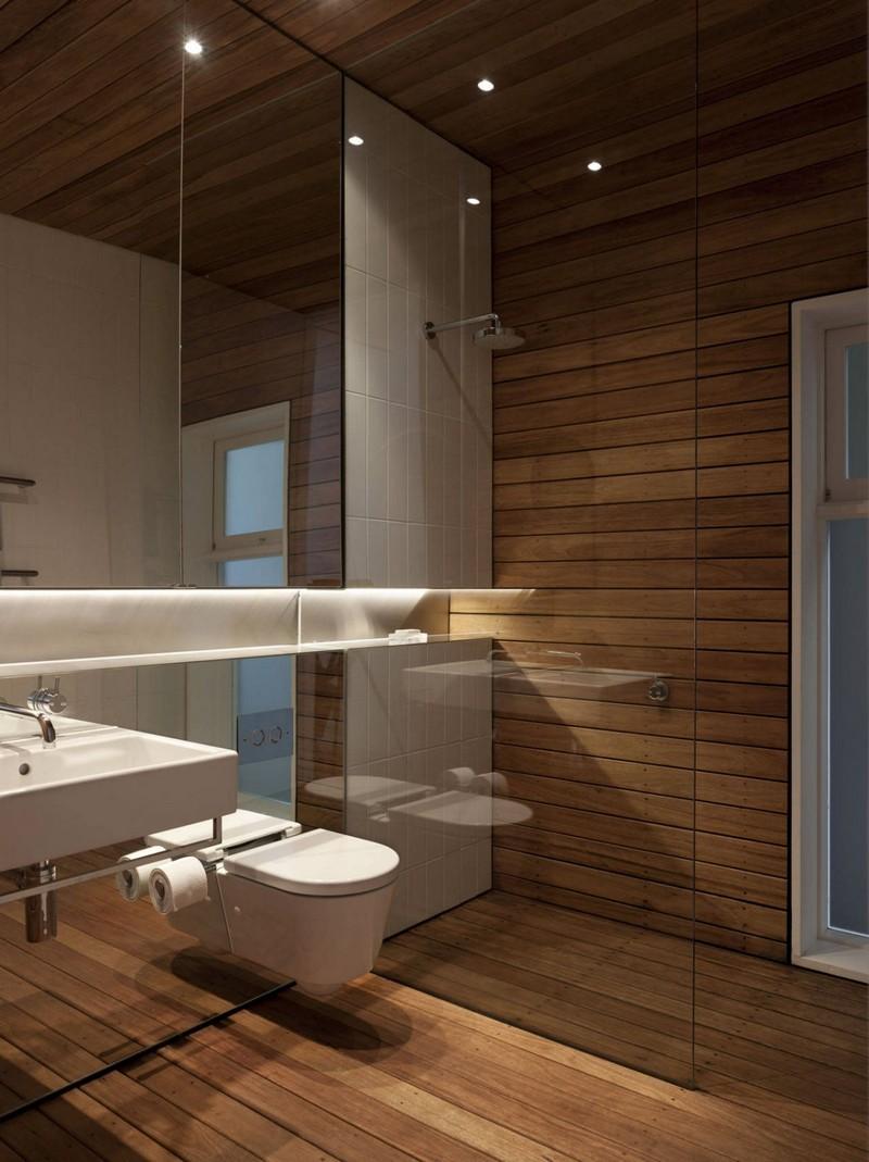 salle de bain sur plancher bois. good revetement sol salle de bain ... - Revetement Sol Salle De Bain Sur Plancher Bois