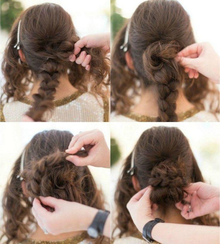 coiffure pour nouvel an tutoriel-tresses-chignon-torsade