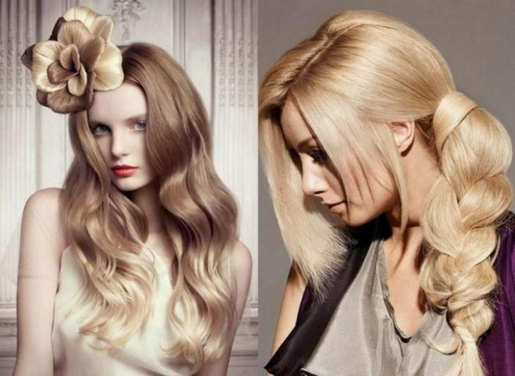 coiffure-pour-noël-brushing-ondulé-tresse-latérale