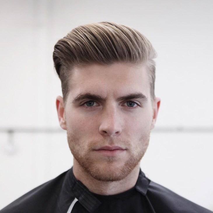 coupe de cheveux homme 2016-comb-over-barbe-courte