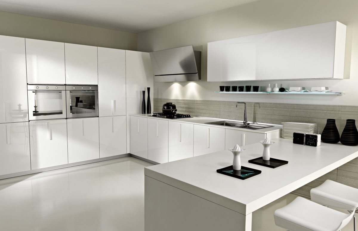 33 modern white contemporary and minimal kitchen designs kitchen ideas 33 Modern white contemporary and minimalist kitchen designs