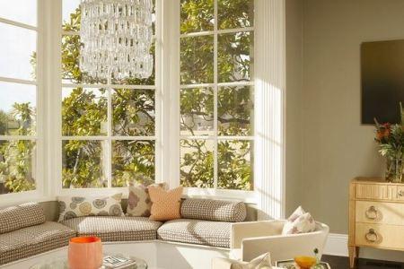 bay window decorating ideas bay window seats living room with bay window design bolster pillow