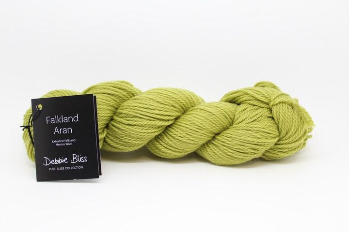 Debbie Bliss Falkland Aran. Part of the new Pure Bliss yarn range 2016