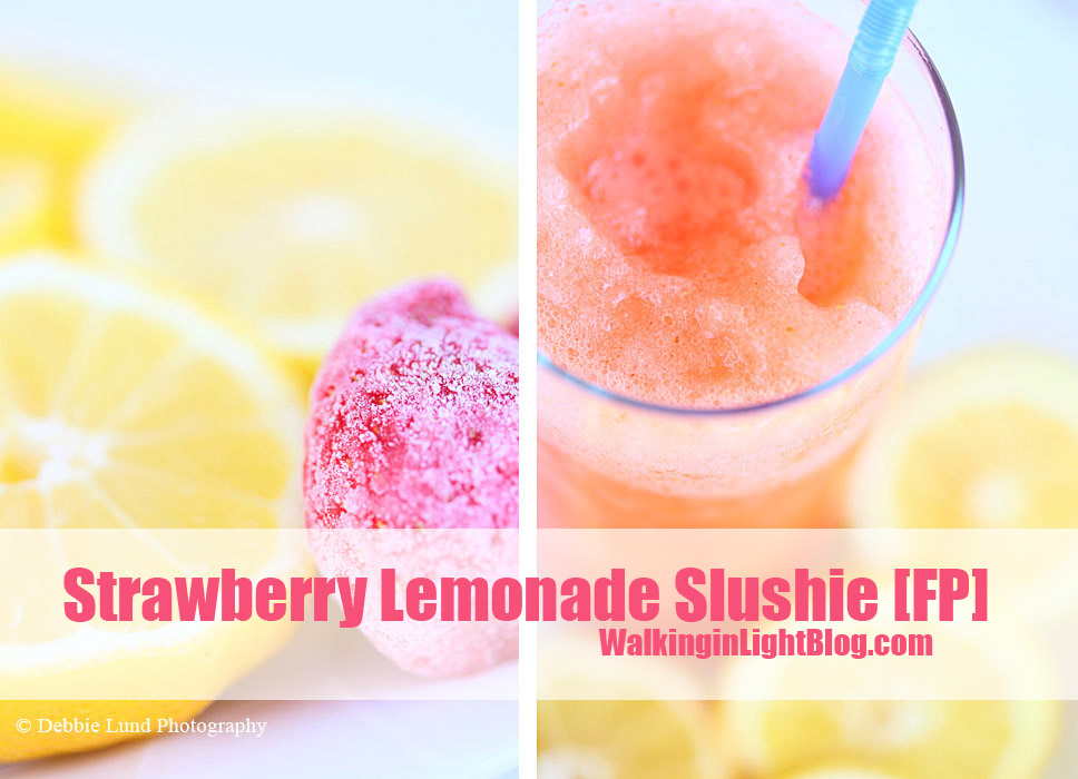 Strawberry Lemonade Slushie, Trim Healthy Mama, THM FP