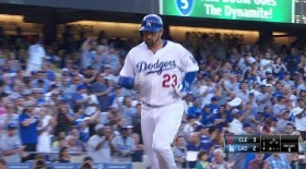 Cuadrangular de Adrián González de Dodgers de Los Angeles