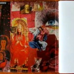 From Tiger To Prayer inside book cover red collage
