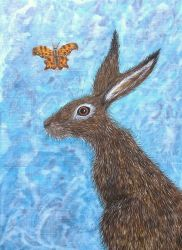 The Hare and the Butterfly met on a Summer Day
