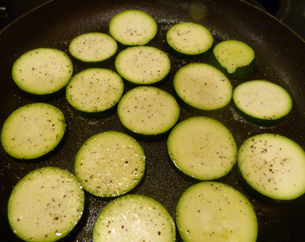 zucchini cooking