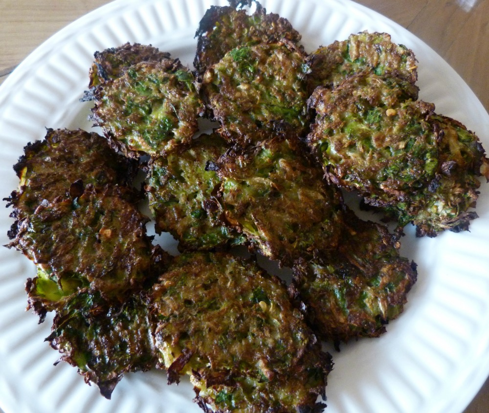 brussels sprouts latkes