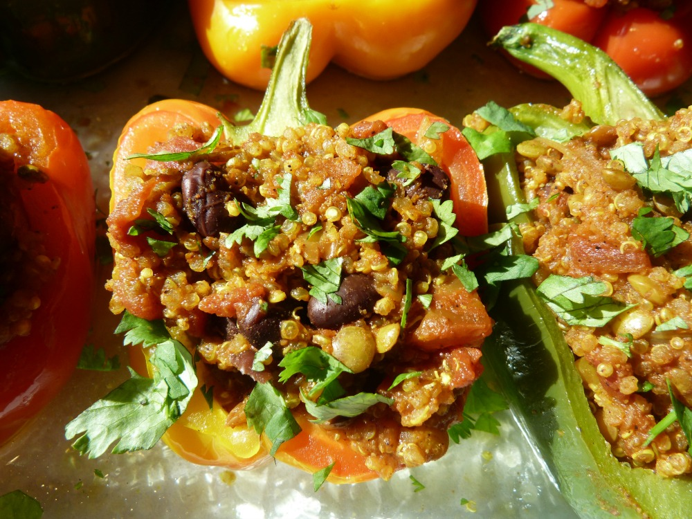 Vegan Stuffed Pepper
