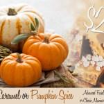 Pumpkin Spice or Salted Caramel Anyone?