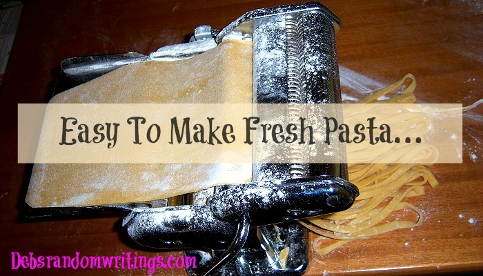 How To Make Fresh Pasta – An Easy Recipe