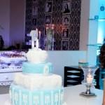 Festa Azul e preto   Debutante Carolina