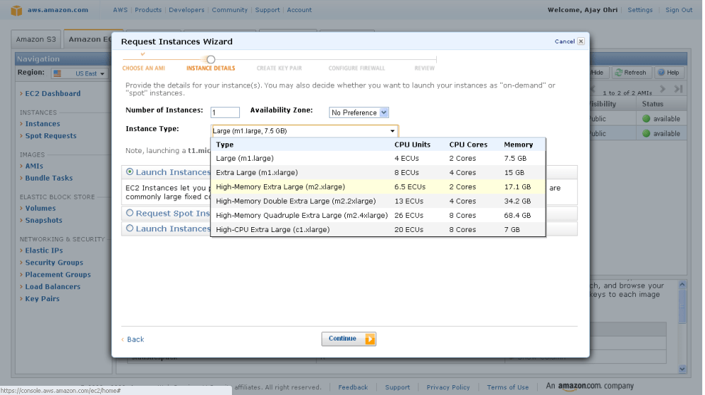 Running R on Amazon EC2 (2/6)