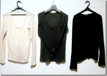 色違いのTシャツ