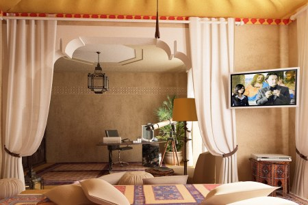 moroccan 3 bedroom ideas