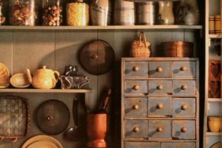 primitive 16 home decorating ideas