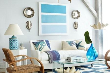 beach 2 themed living room ideas