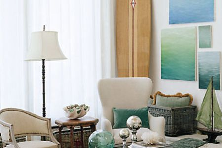 beach 7 themed living room ideas