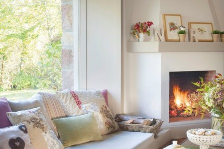 cozy living room sofa under window 622x873