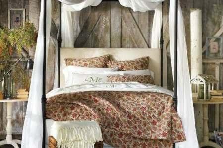 rustic bedroom decorating idea 44
