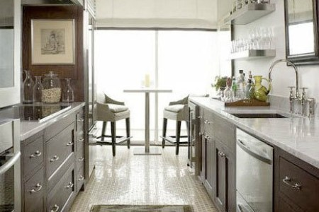 gallery for > traditional galley kitchen designs