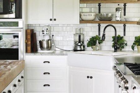 dream house white kitchen design