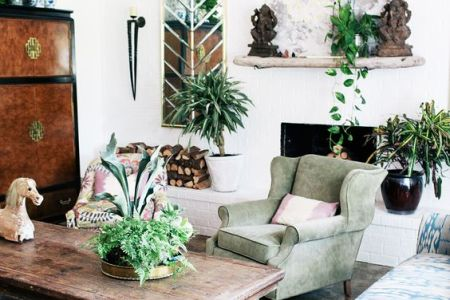 colorful bohemian living room 5
