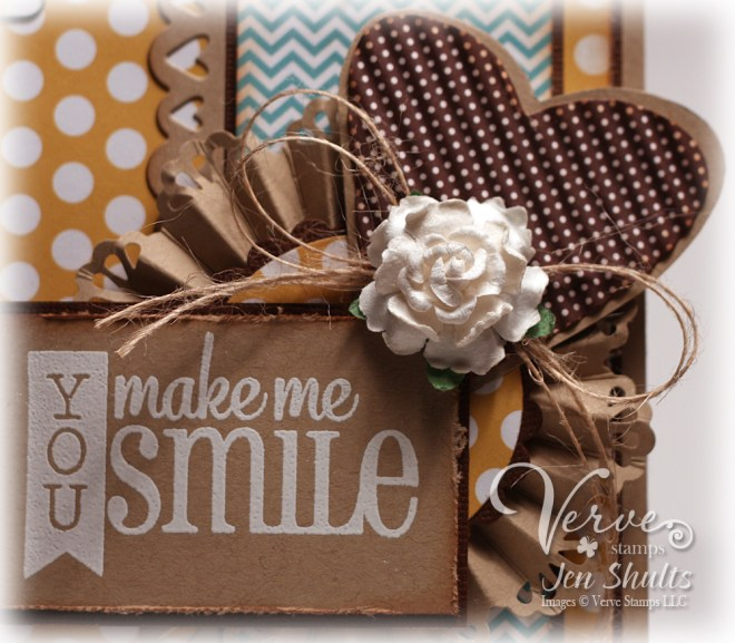 You make Me Smile by Jen Shults for Verve Stamps