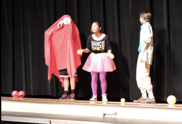 Blinky @ 2015 Awards Assembly